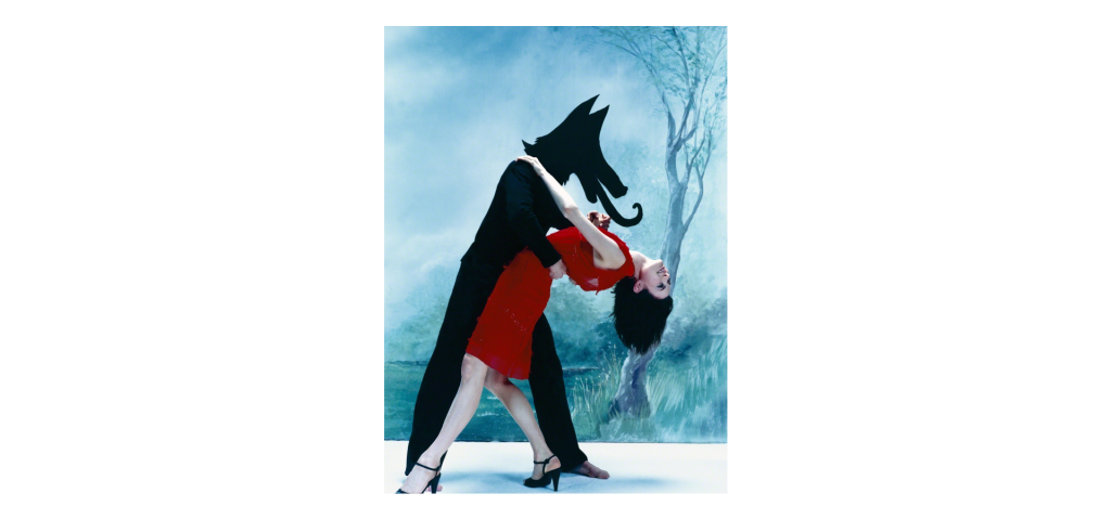 Sophie Delaporte - Le Loup, 2000. From the series Early Fashion Work Digital C-Print 31 × 23 in 78.7 × 58.4 cm