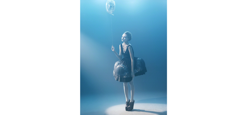 Sophie Delaporte - Les Ballons, 2006. From the series Early Fashion Work Digital C-Print 23 × 18 in 58.4 × 45.7 cm
