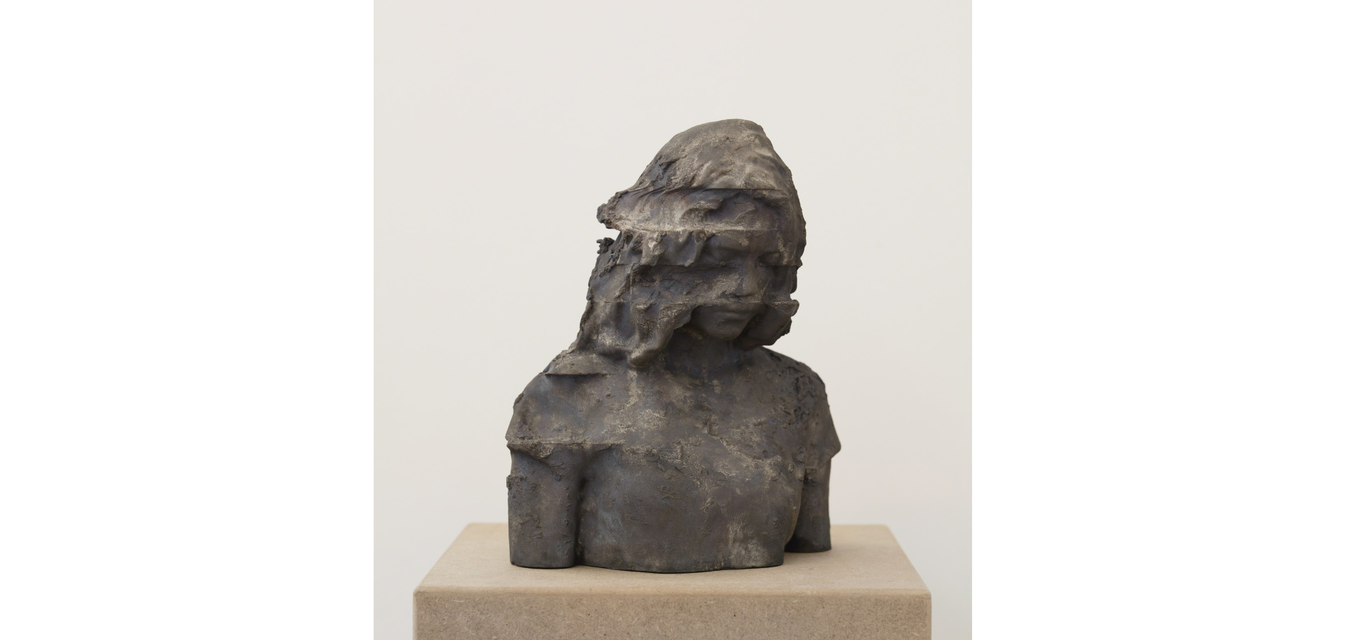 Andy Denzler, 'Bust I,' 2015, Opera Gallery Andy Denzler Bust I, 2015 Bronze 11 × 9 2/5 × 6 3/10 in 28 × 24 × 16 cm Edition of 6 + 2AP