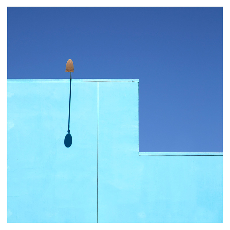 George Byrne- Blue on Blue #2 2014 - Edition of 5 + 2AP Archival Pigment Print