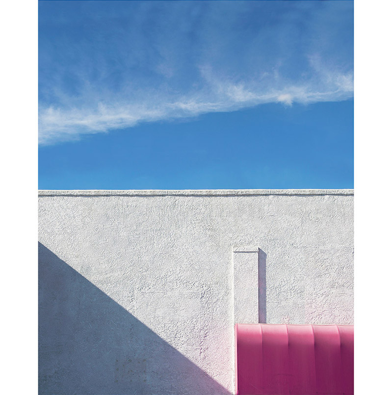 """George Byrne Pink & White #3 2015 - 35"""" x 44"""" Edition of 5 + 2AP Archival Pigment Print Local Division LA"""